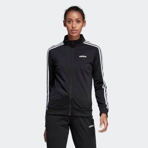 Adidas Essentilas Tricot Track Jacket Black #2931